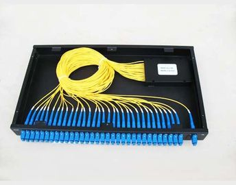 GR-1221 Compliance 1260~1650nm PLC Optical Fiber Splitter For Telecom Network