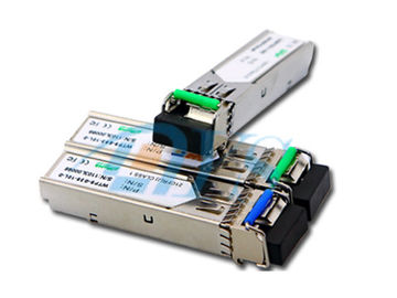 BiDi SFP Fiber Optic Transceiver Package With LC / SC Connector