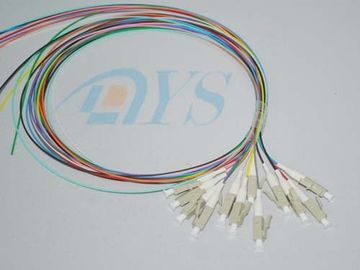 12 Core LC Optical Fiber Connectors Stable 0.9mm For Local Area Networks