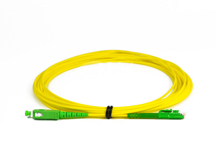 চীন SC / APC -LX.5 / APC Simplex Fiber Optic Patch Cord for Access Network সরবরাহকারী