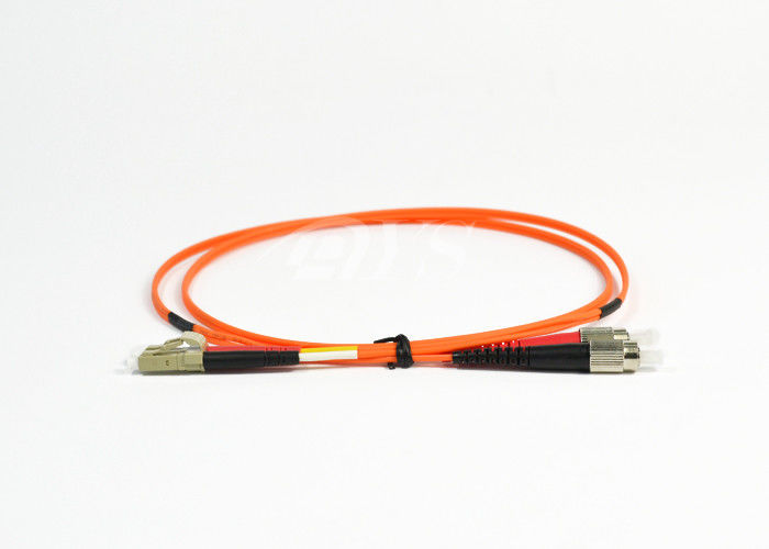 চীন Orange Duplex FC to LC Optical Fiber Patch Cord for Access Network সরবরাহকারী