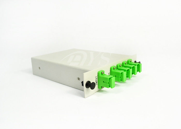 চীন LGX 1260~1650nm, 1*4  PLC ptical Fiber Splitter Cassette Type সরবরাহকারী