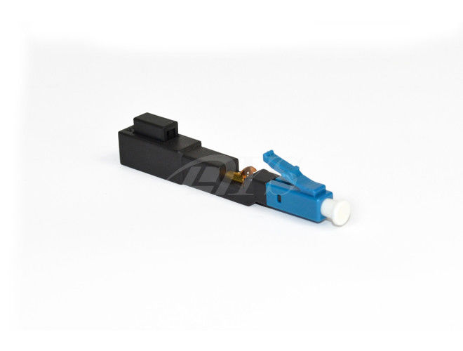 চীন LC Fast  Optical Fiber Connector 3.0 x 2.0 mm Bow-type Drop Cable সরবরাহকারী