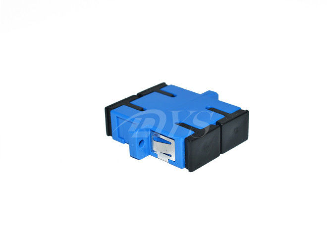 চীন Duplex Singlemode SC / UPC Fiber Optic Adapter for Optical Networks সরবরাহকারী