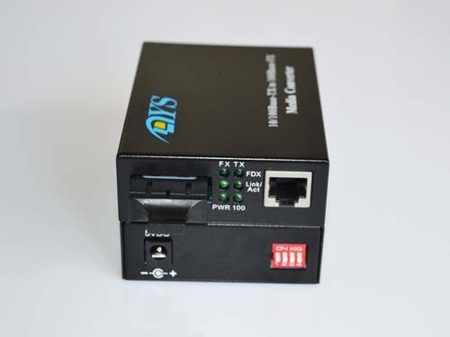 ROHS 100M LFP Optical Fiber Media Converter For CATV / Network সরবরাহকারী