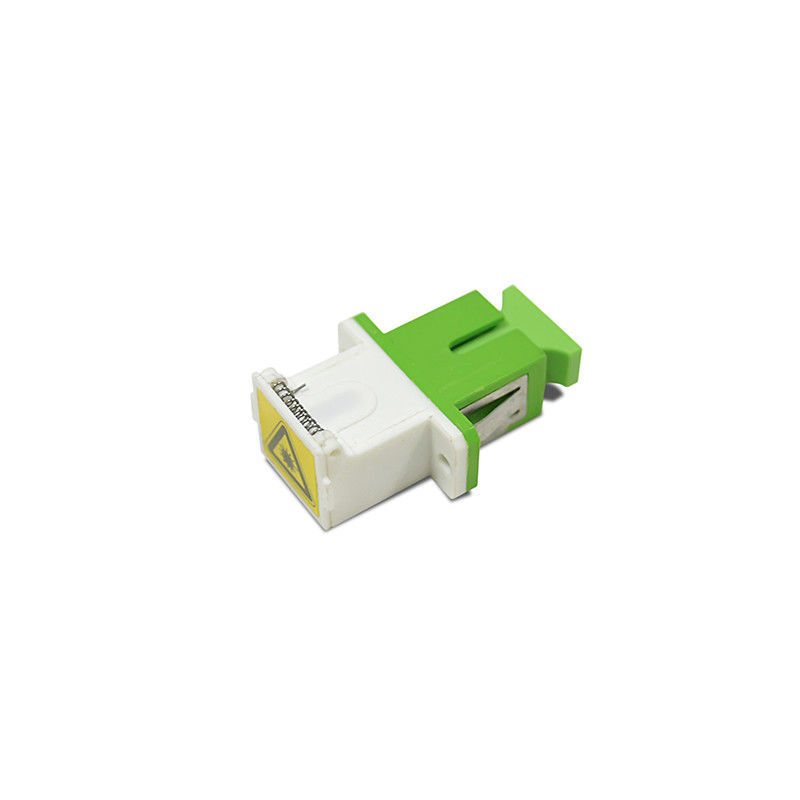 চীন Low Insertion Loss SC/APC Shutter Cassette Fiber Optic Adapter সরবরাহকারী