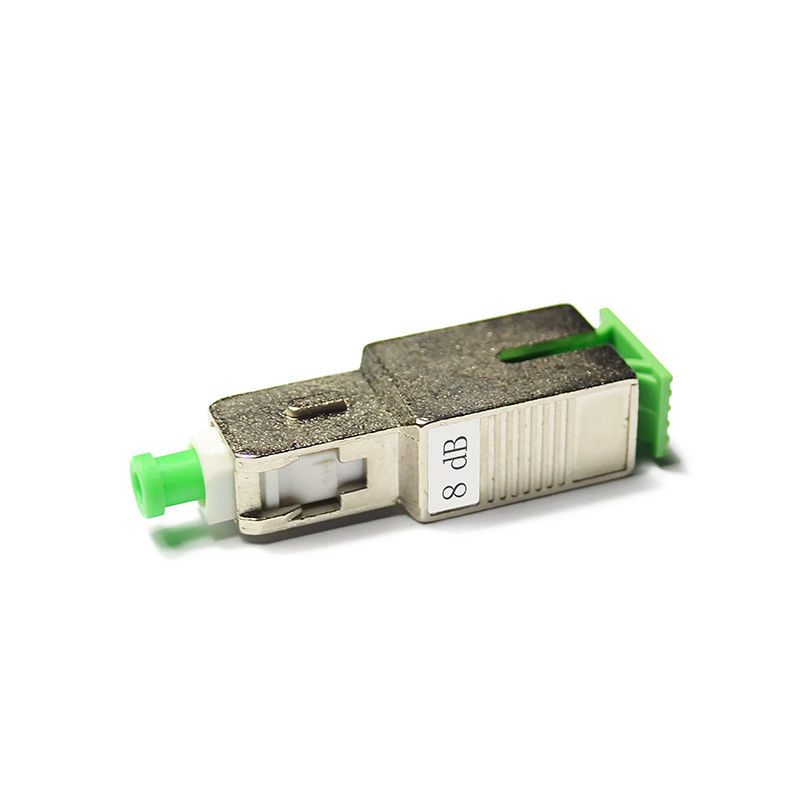 চীন Singlemode Plug Type Fiber Optic Attenuator SC / APC For FTTX সরবরাহকারী