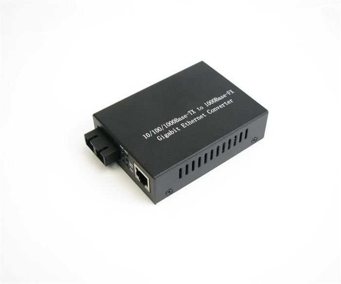 Multimode 10 / 100 / 1000M Optical Fiber Media Converter সরবরাহকারী